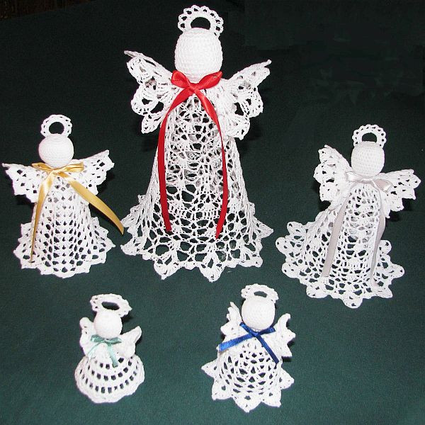 Unique Crocheted Christmas Tree ornaments Crochet Christmas Decorations Of Perfect 50 Ideas Crochet Christmas Decorations