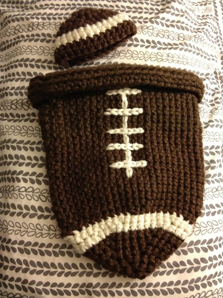 Unique Crocheted Football Cocoon and Hat Crochet Cocoon Pattern Of Perfect 44 Images Crochet Cocoon Pattern