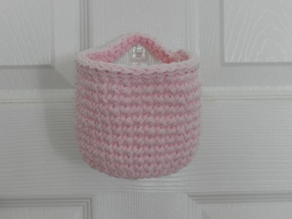 Unique Crocheted Hanging Basket Small Crochet Basket Light Pink Crochet Hanging Basket Of Awesome 47 Photos Crochet Hanging Basket