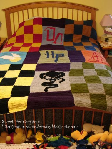 Unique Crocheted Harry Potter Blanket Wow Harry Potter Crochet Blanket Of Luxury 42 Models Harry Potter Crochet Blanket