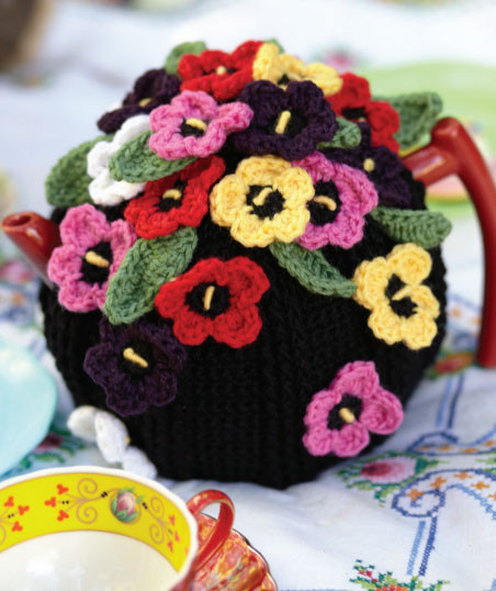 Unique Crocheted Pansy Tea Cosy Free Pattern ⋆ Crochet Kingdom Tea Cozy Crochet Pattern Of Perfect 49 Models Tea Cozy Crochet Pattern