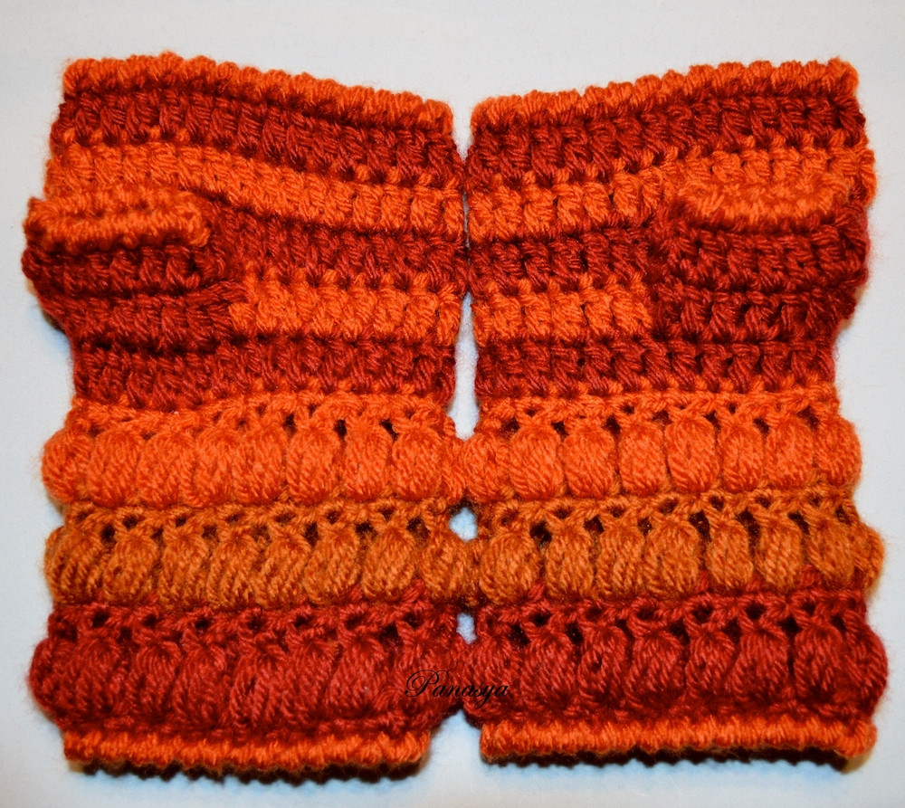 Unique Crocheted Puff Stitches Mittens Free Pattern Puff Crochet Of Great 49 Ideas Puff Crochet