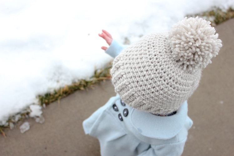 Unique Crocheted Ribbed Beanie – Free Pattern Crochet toddler Beanie Of Delightful 40 Ideas Crochet toddler Beanie