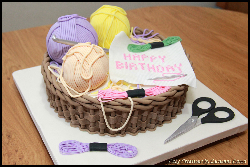 Unique Cross Stitch and Crochet Cake Lucienne Curmi Crochet Cake Of Incredible 40 Ideas Crochet Cake