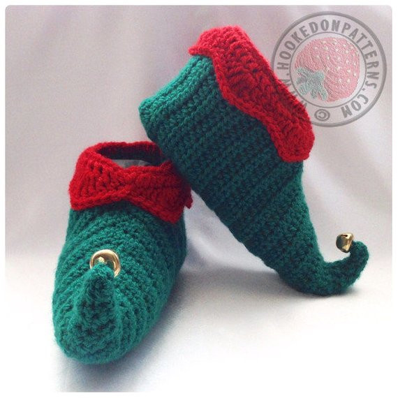 Unique Curly toes Elf Slipper Shoes Crochet Pdf Pattern Crochet Elf Slippers Of Luxury 41 Pictures Crochet Elf Slippers