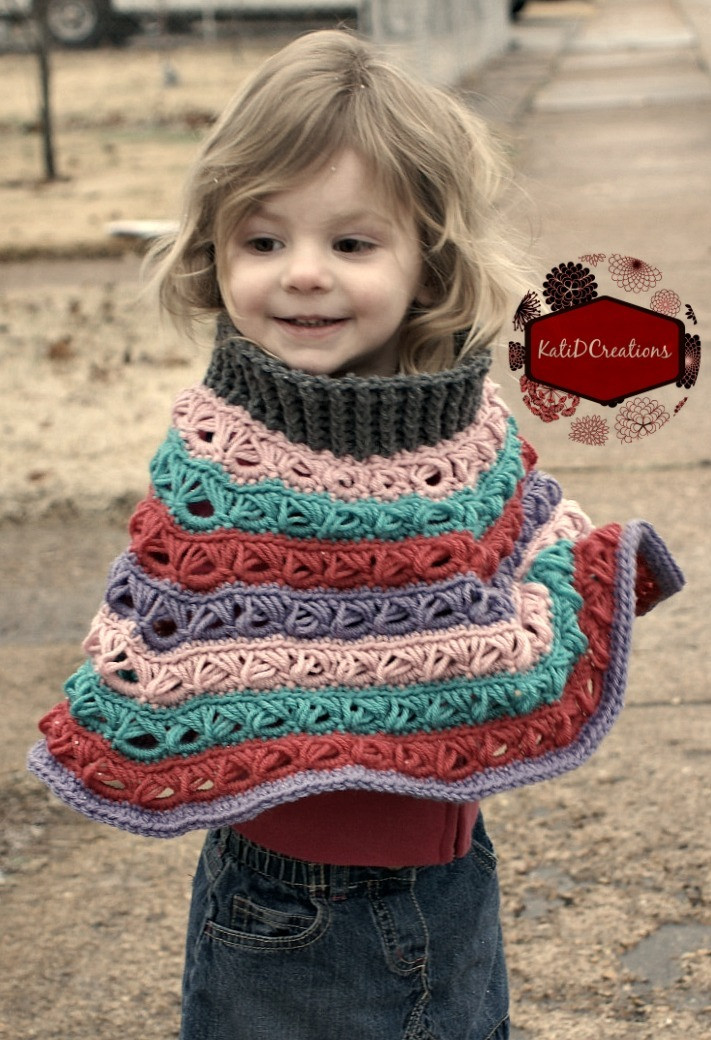 Unique Customizable Broomstick Lace Poncho Crochet Patterns for Kids Of Gorgeous 46 Photos Crochet Patterns for Kids