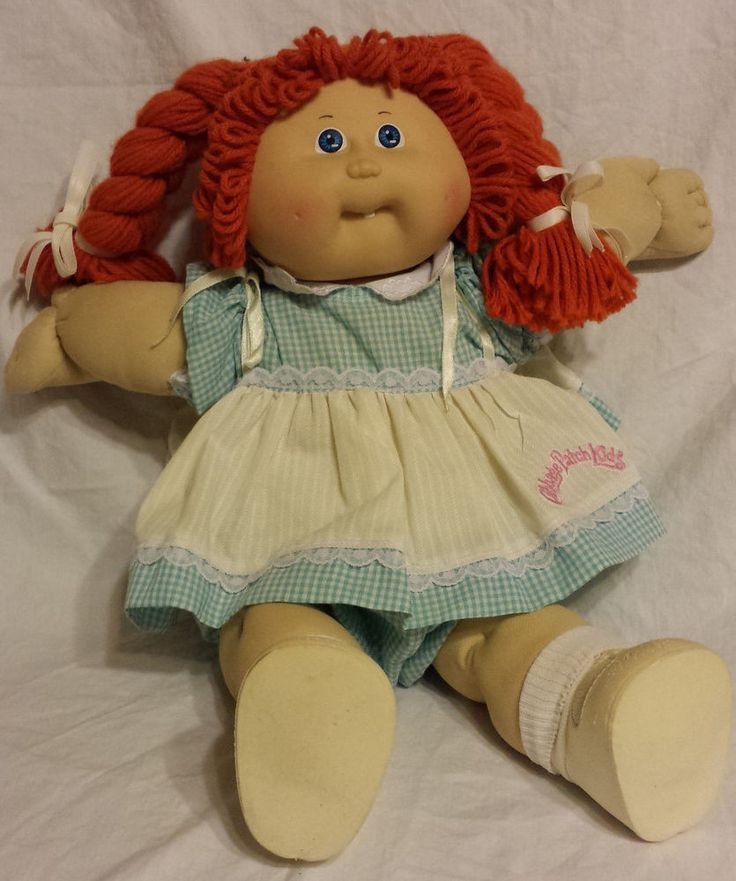 Unique Details About Vintage Cabbage Patch Kids Doll Red Hair Old Cabbage Patch Doll Of Wonderful 47 Ideas Old Cabbage Patch Doll