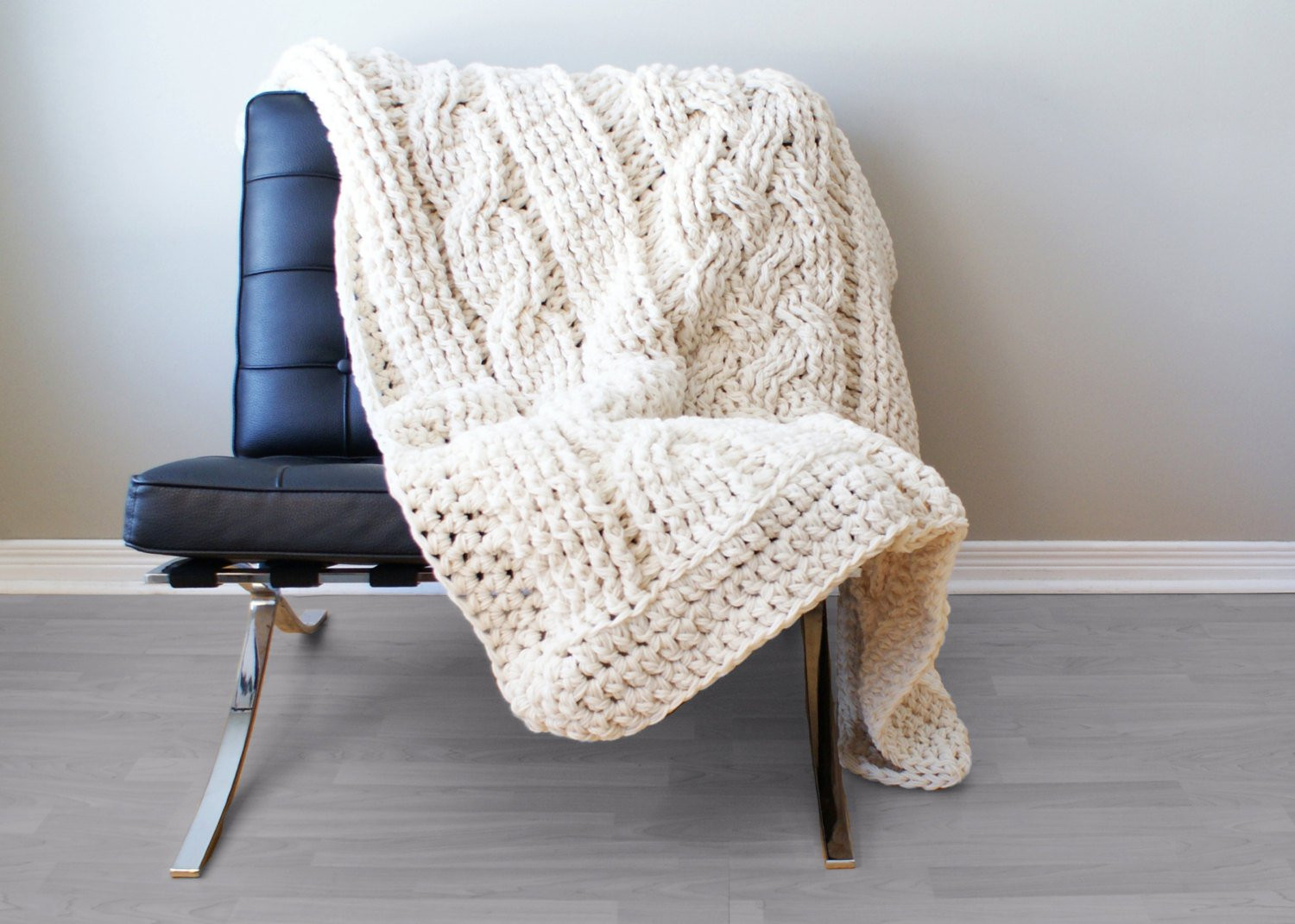 Unique Diy Crochet Pattern Throw Blanket Rug Super Chunky Double Crochet Cable Blanket Of Lovely 46 Models Crochet Cable Blanket