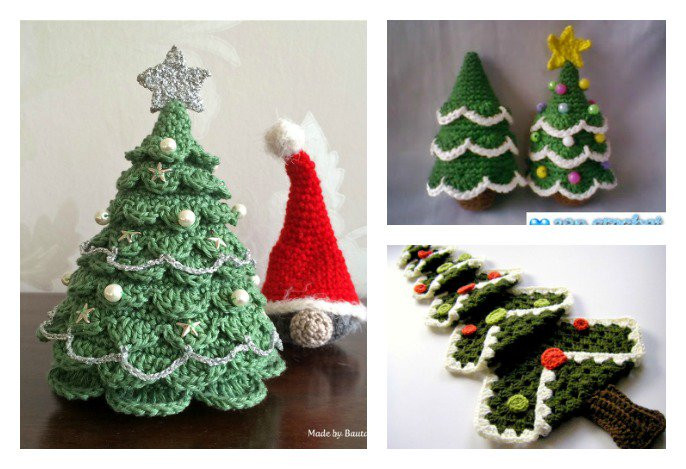 Unique Diy Crocheted Christmas Tree with Free Pattern Free Crochet Christmas Tree ornament Patterns Of Awesome 44 Ideas Free Crochet Christmas Tree ornament Patterns