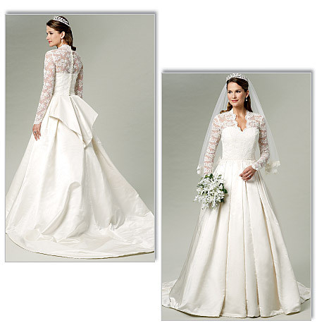 Unique Diy Wedding Dress In Kate Middleton Style From butterick Bridal Dress Patterns Of Delightful 43 Pictures Bridal Dress Patterns