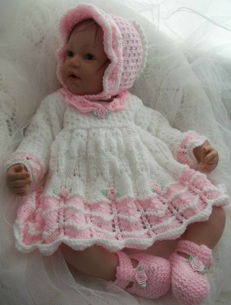 Unique Dk Baby Girls Knitting Pattern 45 to Knit Dress Bonnet Baby Dress Knitting Pattern Of Amazing 40 Models Baby Dress Knitting Pattern