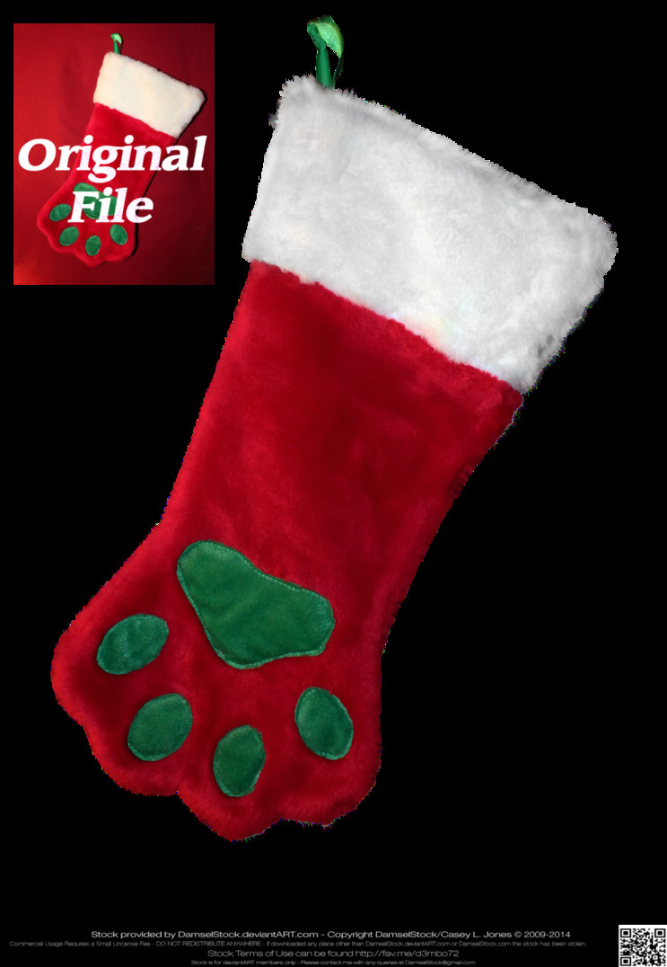 Unique Dog or Cat Paw Shaped Christmas Stocking by Damselstock On Dog Paw Stocking Of Charming 44 Ideas Dog Paw Stocking