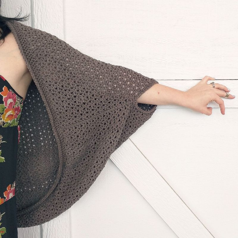 Domestic Bliss Squared the cozy cocoon cardigan a free