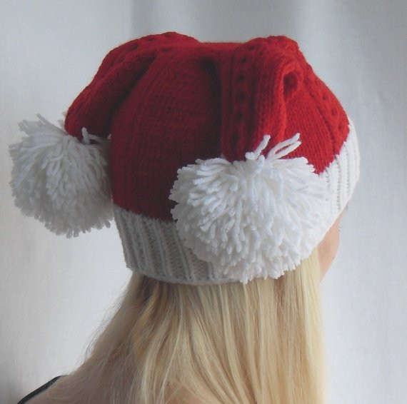 Unique Double Tailed Knitted Santa Hat Like Penny S Hat From Big Knitted Santa Hat Of Fresh 50 Photos Knitted Santa Hat