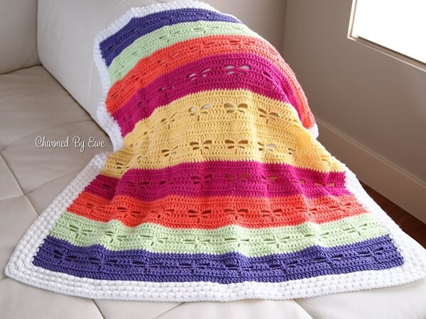 Dragonfly Baby Blanket – a Pattern
