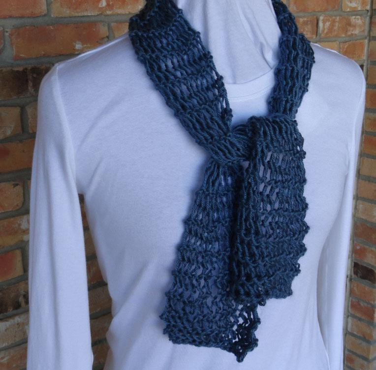 Easy Knit Lace Scarf by KimberleeG Craftsy