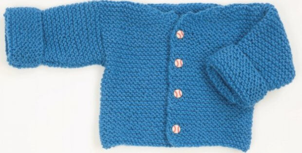 Unique Easy Knitted Garter Stitch Baby Sweater [free Pattern] Easy Knit Baby Sweater Of Fresh 41 Ideas Easy Knit Baby Sweater