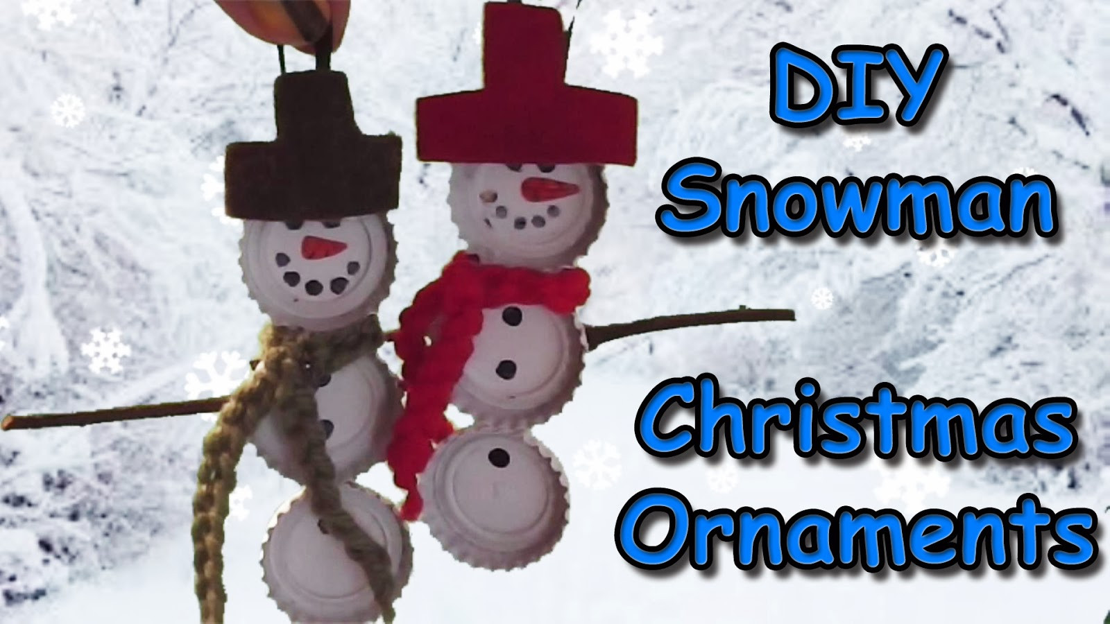 Unique Easymeworld Diy Snowman Christmas ornaments Snowman Christmas ornaments Of Adorable 45 Models Snowman Christmas ornaments