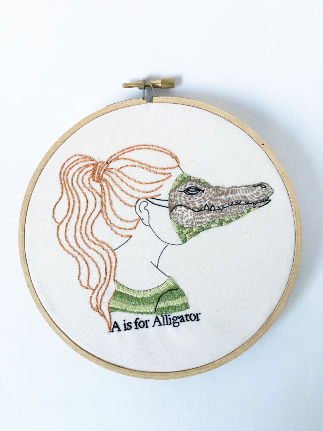 Embroidery Kit Hand Embroidery Kit DIY Embroidery Kit A is