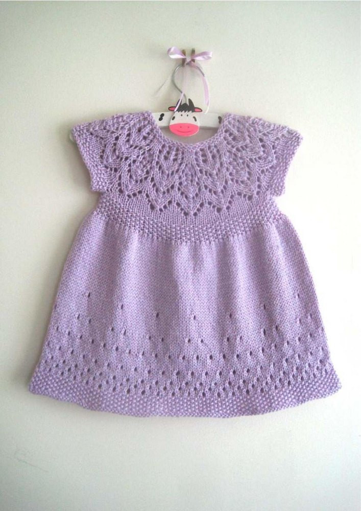 Unique Evie Dress Knitting Pattern by Suzie Sparkles Knitted Baby Dress Of Brilliant 49 Photos Knitted Baby Dress