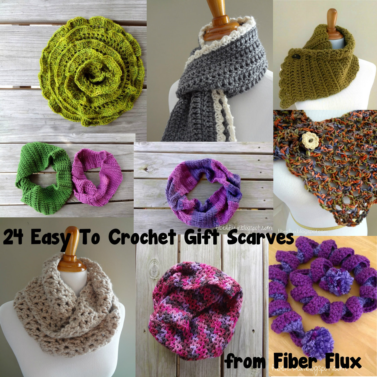 Unique Fiber Flux 24 Easy to Crochet Gift Scarves Easy Crochet Gifts Of Superb 42 Pictures Easy Crochet Gifts