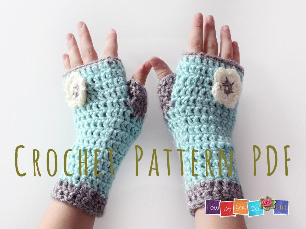 Unique Fingerless Mittens for Kids Pdf Crochet Pattern Gloves for Easy Fingerless Gloves Crochet Pattern Of Innovative 49 Photos Easy Fingerless Gloves Crochet Pattern