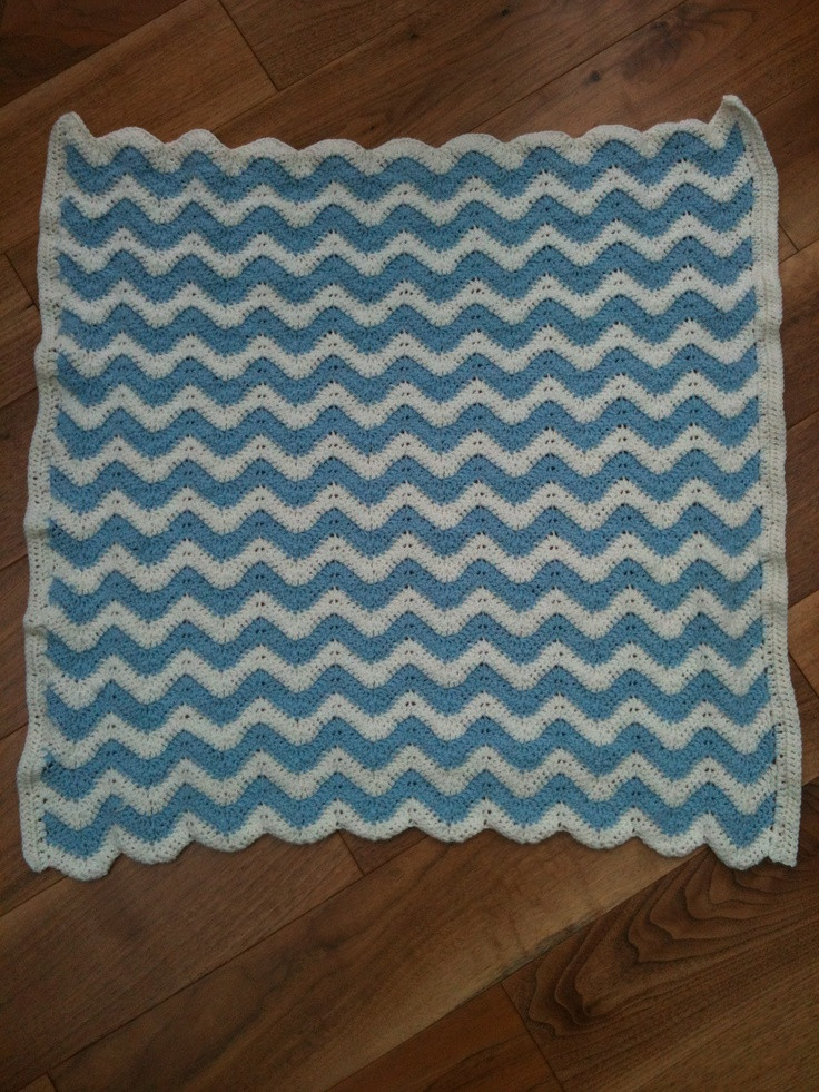 Unique First attempt at A Ripple Blanket Thank You to the Crochet Crowd Baby Blanket Of Brilliant 40 Photos Crochet Crowd Baby Blanket