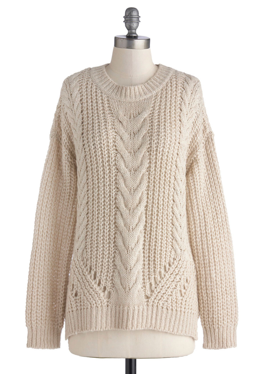 Flaunt Your Lovely Cardigan In New Cable Knit Cardigan