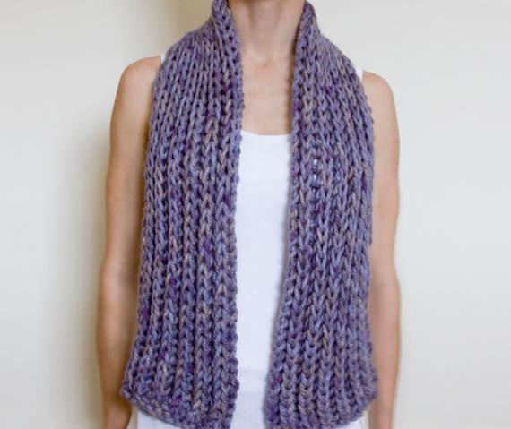 Unique Free Chunky Scarf Knitting Patterns Chunky Knit Scarf Of Top 50 Photos Chunky Knit Scarf