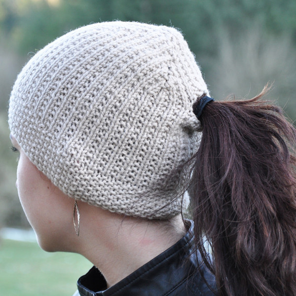 Unique Free Crochet Hat Pattern with Ponytail Hole Dancox for Free Knitting Pattern for Ponytail Hat Of Delightful 43 Models Free Knitting Pattern for Ponytail Hat