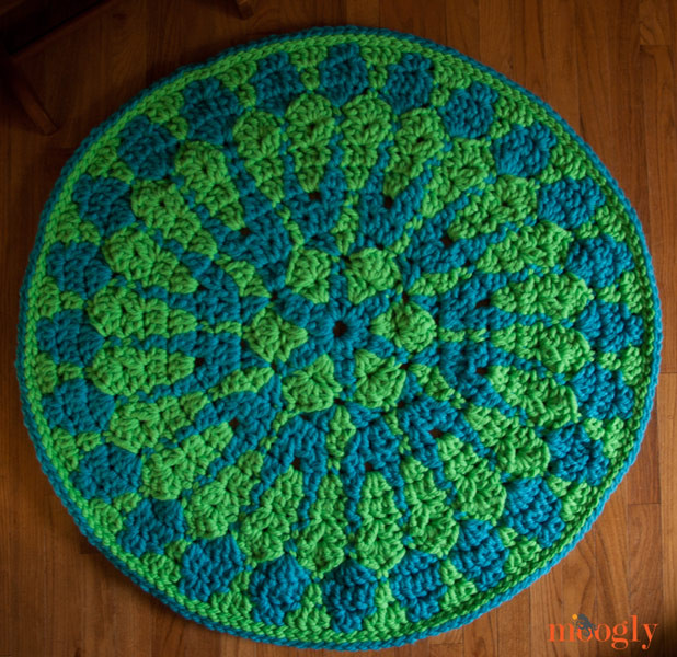 Unique Free Crochet Pattern Shocking Mandala Rug Free Crochet Rug Patterns Of Delightful 48 Pics Free Crochet Rug Patterns