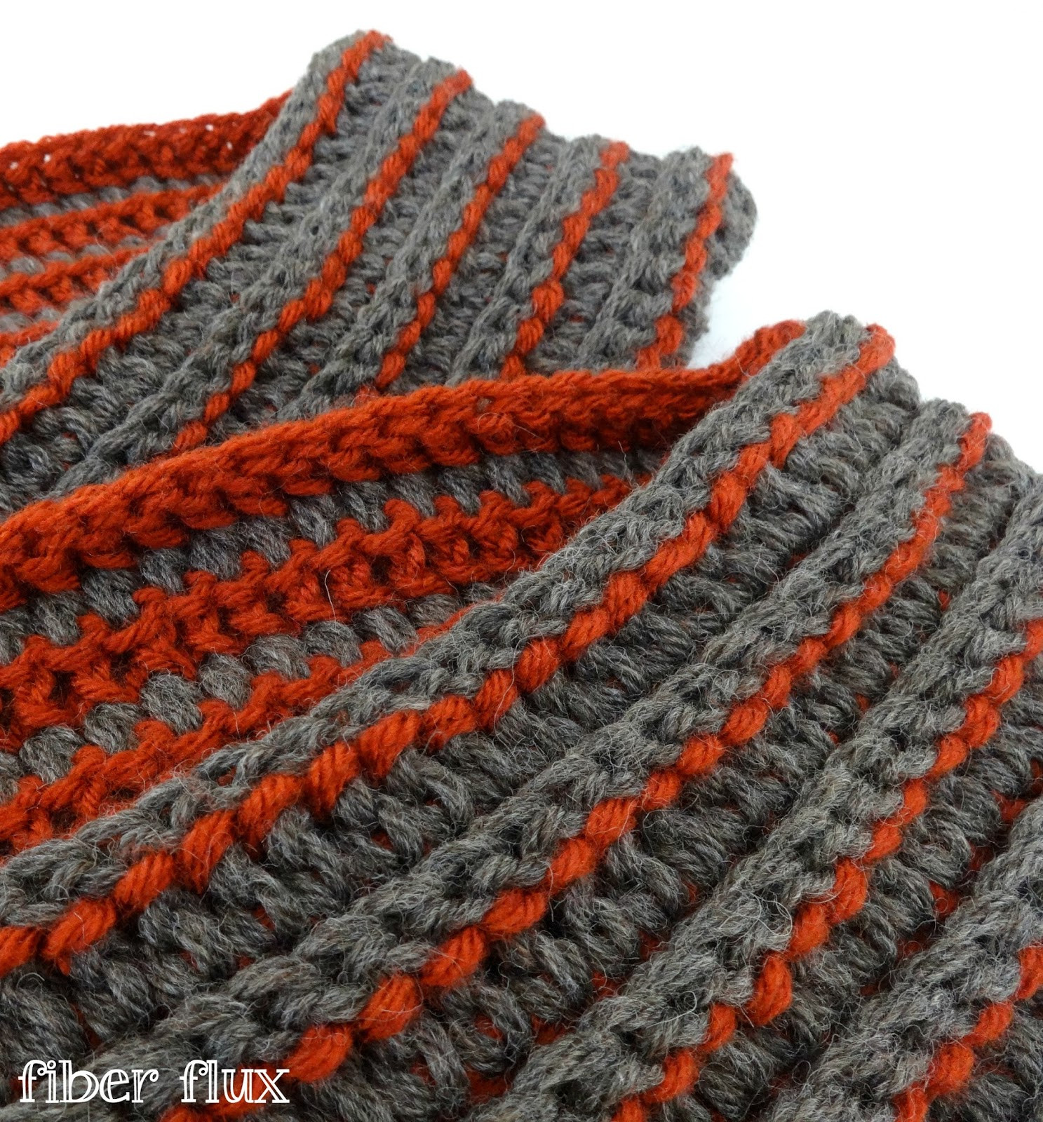 Free Crochet Pattern The Every Man Scarf