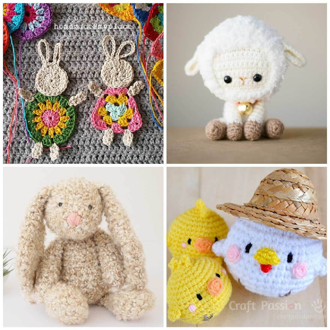 Unique Free Crochet Patterns for Spring Daisy Cottage Designs Crochet Stuffed Animal Patterns Of Great 43 Ideas Crochet Stuffed Animal Patterns