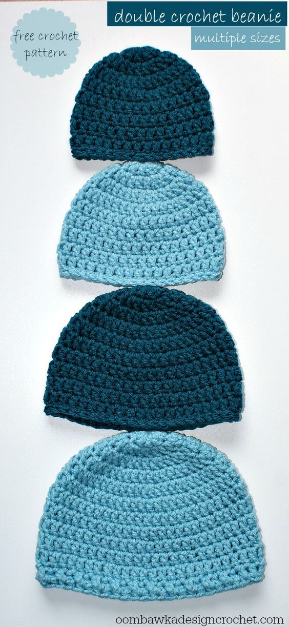 Free Double Crochet Hat Using Red Heart With Love Yarn