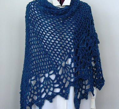 [Free Pattern] Awesomely Easy And Quick Shawl You Need To