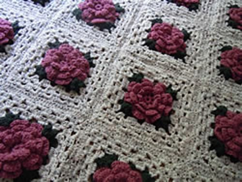 Unique [free Pattern] Impress Anyone with This Stunning Rose Free Crochet Granny Square Baby Blanket Patterns Of Contemporary 45 Pictures Free Crochet Granny Square Baby Blanket Patterns