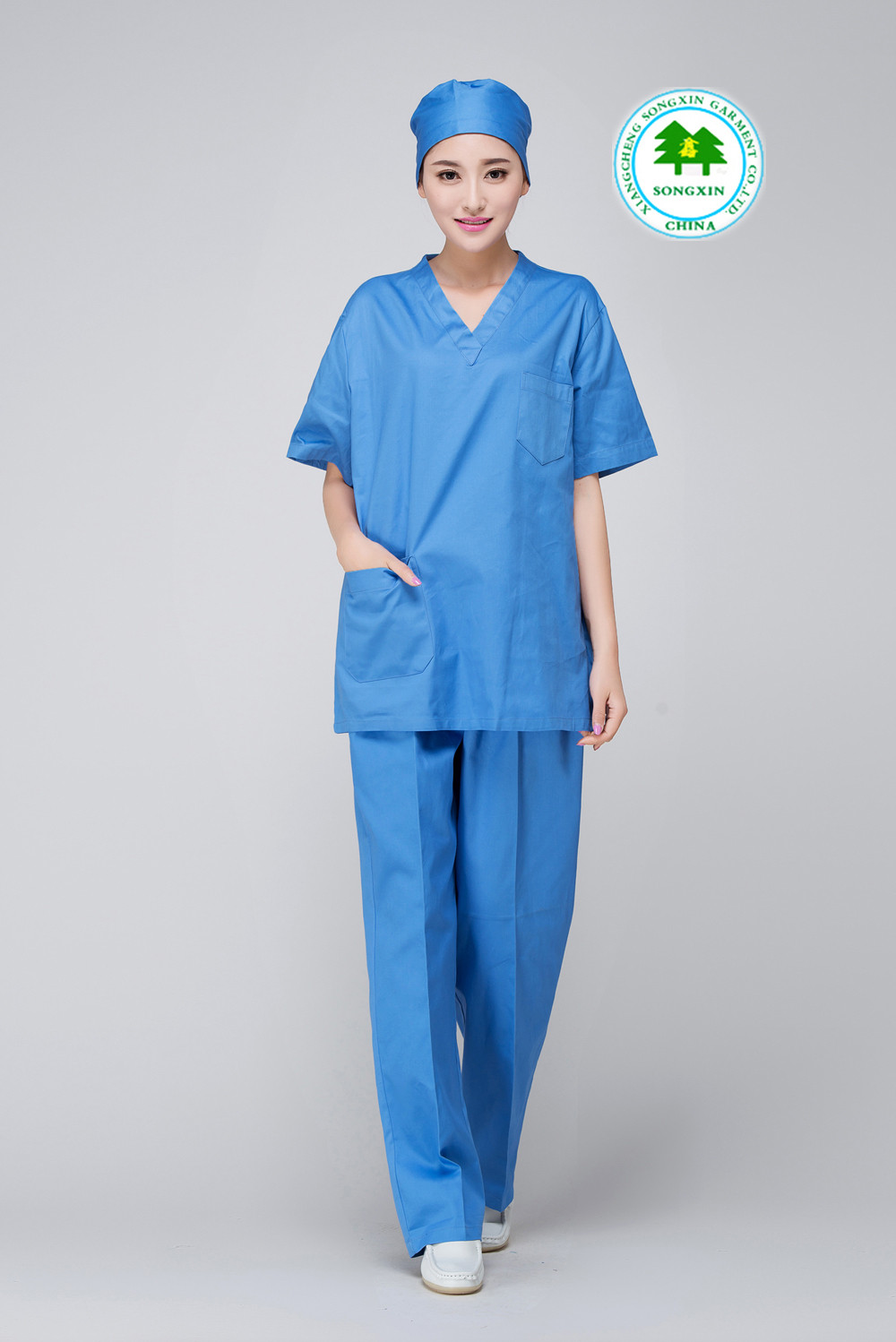 Unique Free Shipping Oem Scrub Sets Uniforme Medico Medical V Cotton Scrubs Of Attractive 47 Models Cotton Scrubs
