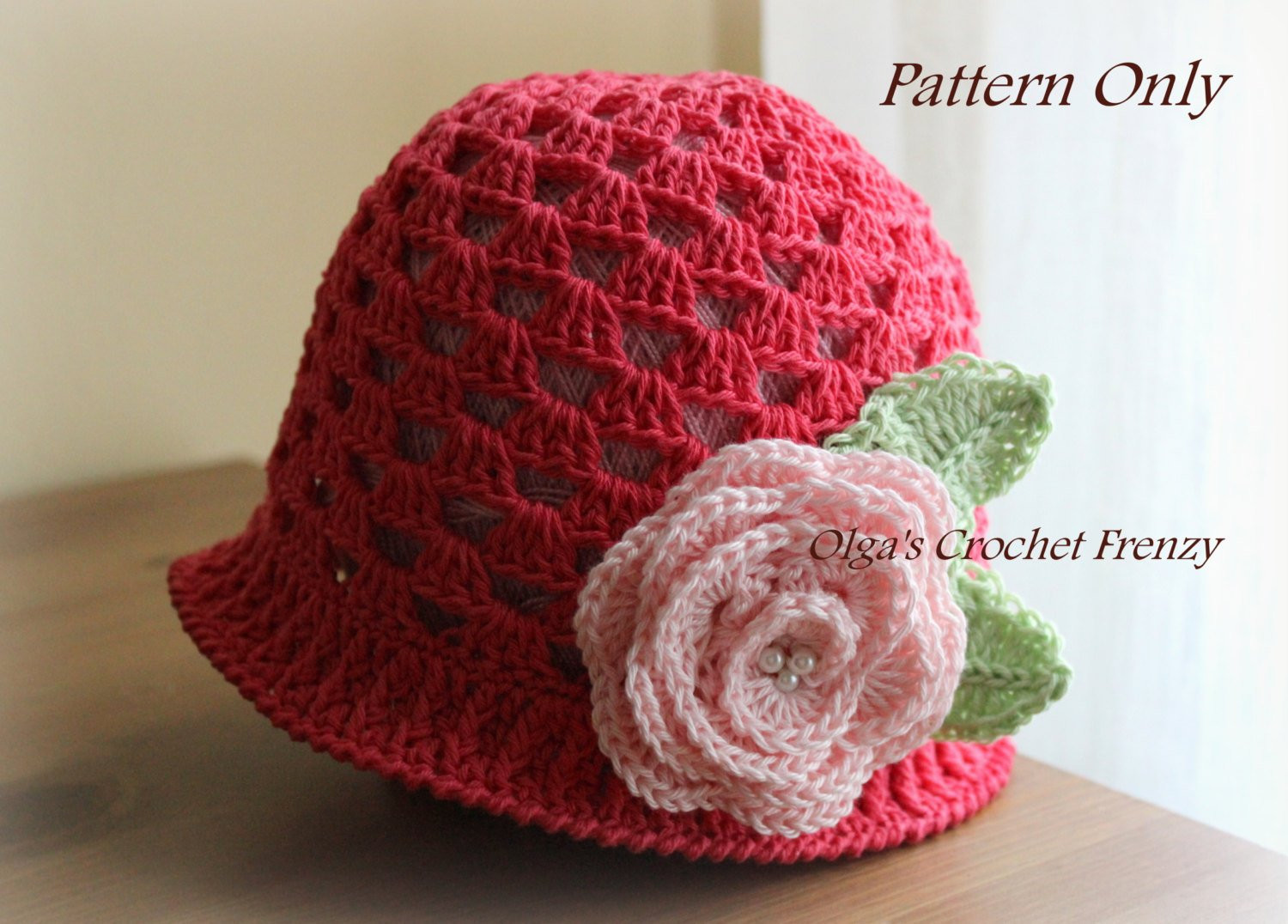 Unique Girl S Summer Hat Crochet Pattern Size 3 5 Years Old Girls Crochet Hat Pattern Of Perfect 45 Pictures Girls Crochet Hat Pattern