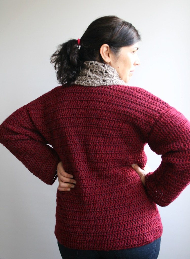 Unique Girls and Women Crochet Sweater Pattern Luz Patterns Crochet Pullover Of Top 47 Images Crochet Pullover