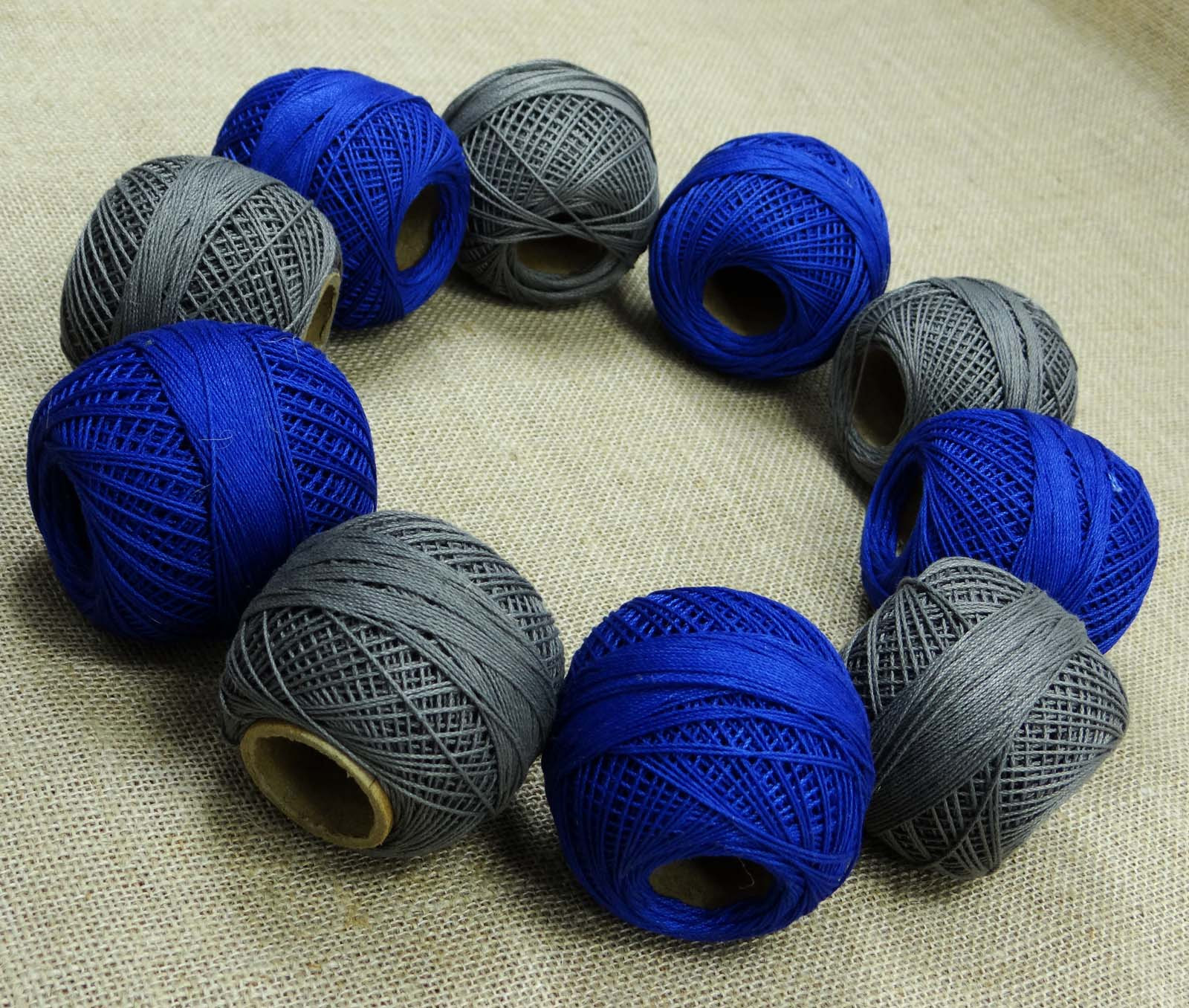Unique Grey Embroidery Crochet Cotton Yarn Spun Mercerized Skein Crochet Cotton Thread Of New 50 Pics Crochet Cotton Thread