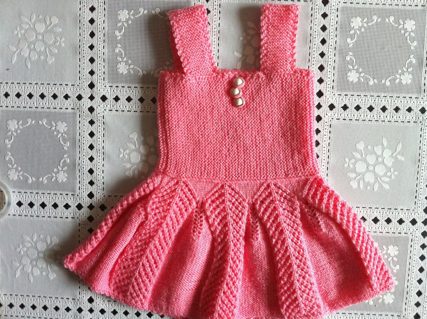 Unique Hand Knit Baby Pinafore Dress Christmas Dress Girl Baby Knitted Baby Dress Of Brilliant 49 Photos Knitted Baby Dress