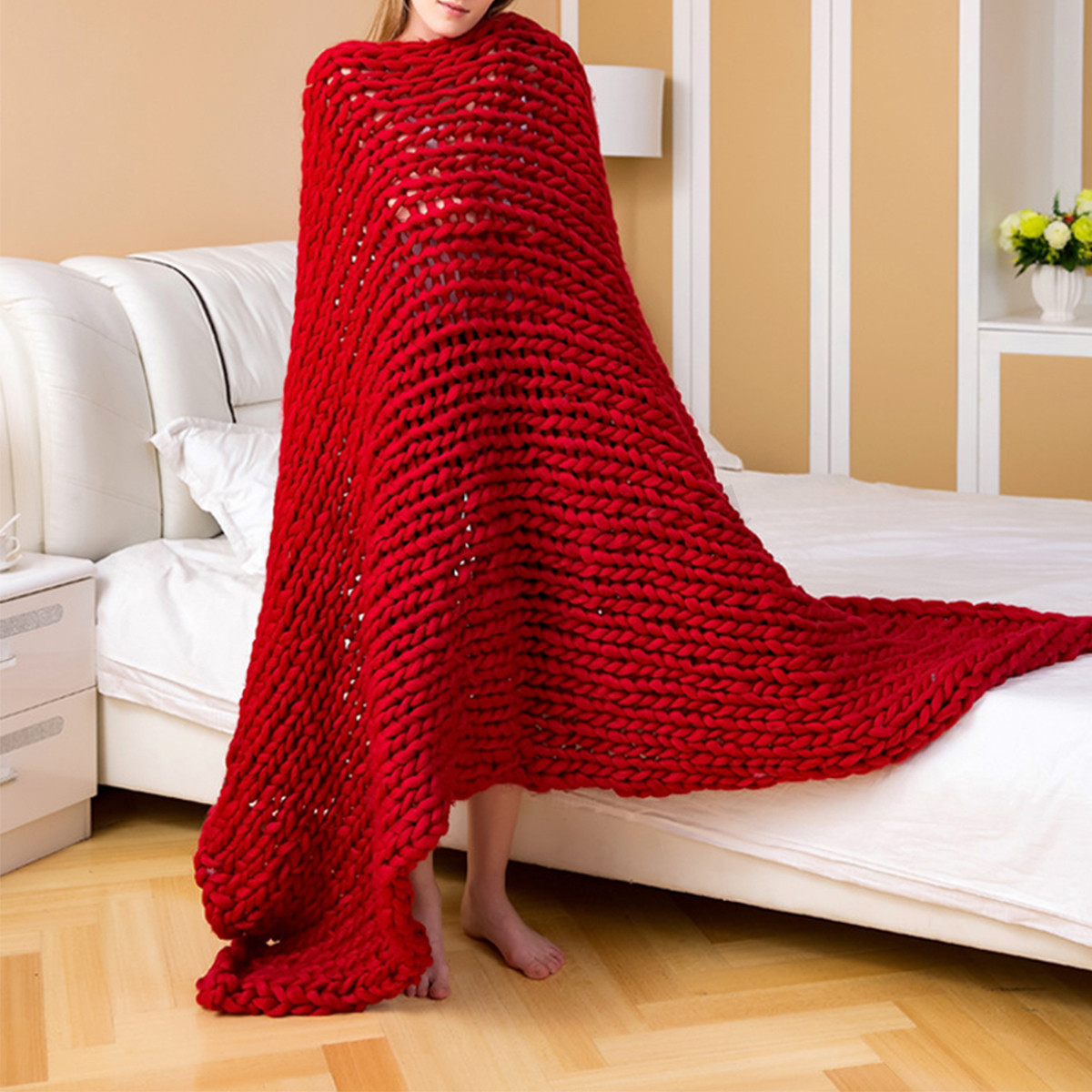 Unique Handmade Chunky Knitted Blanket Wool Thick Line Yarn Chunky Wool Yarn Blanket Of Great 47 Images Chunky Wool Yarn Blanket