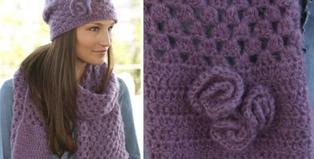 Unique Hazel Crocheted Scarf and Hat Set [free Crochet Pattern] Crochet Hat and Scarf Set Of Amazing 44 Models Crochet Hat and Scarf Set