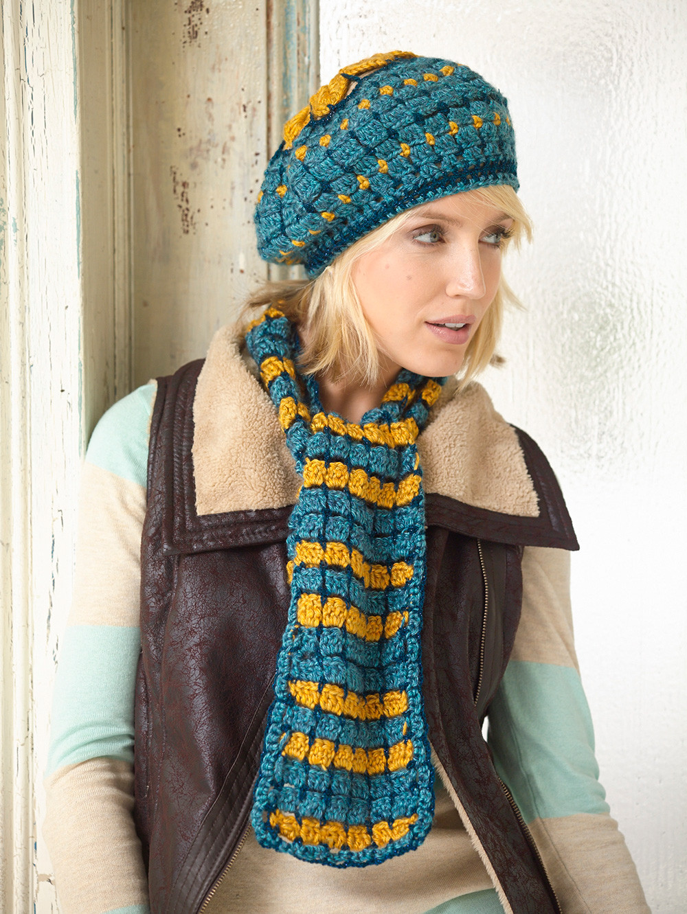 Unique How to Crochet A Scarf for Beginners Step by Step Slowly Crochet Hat and Scarf Set Of Amazing 44 Models Crochet Hat and Scarf Set