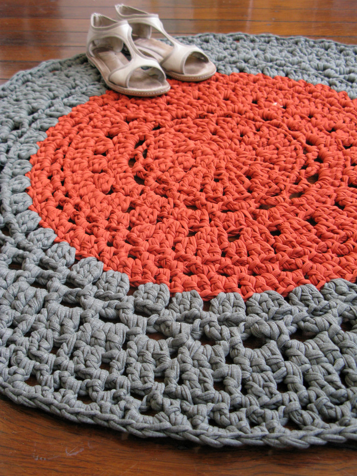 Unique How to Crochet A Tshirt Rug Rugs Ideas T Shirt Rug Crochet Of Amazing 48 Pics T Shirt Rug Crochet