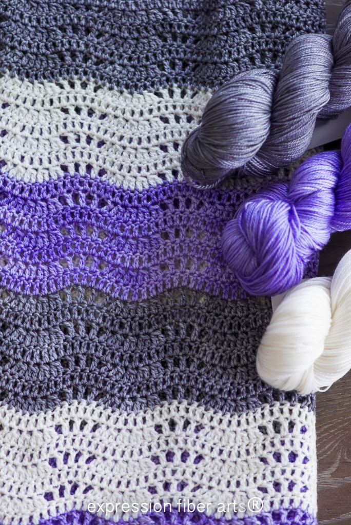 How to Crochet an Easy Beginner Baby Blanket – Pattern