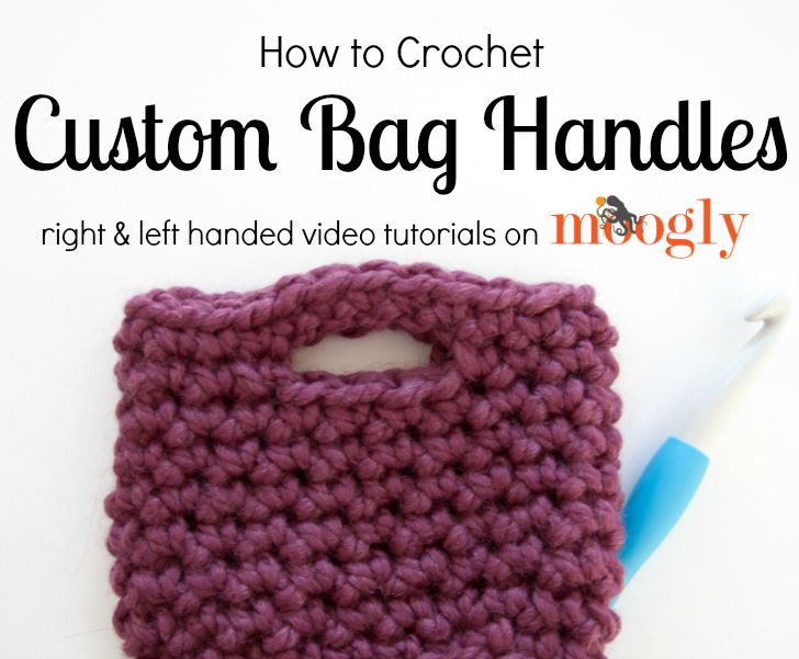 Unique How to Crochet Bag Handles Moogly Crochet Purse Handles Of Awesome 44 Pictures Crochet Purse Handles