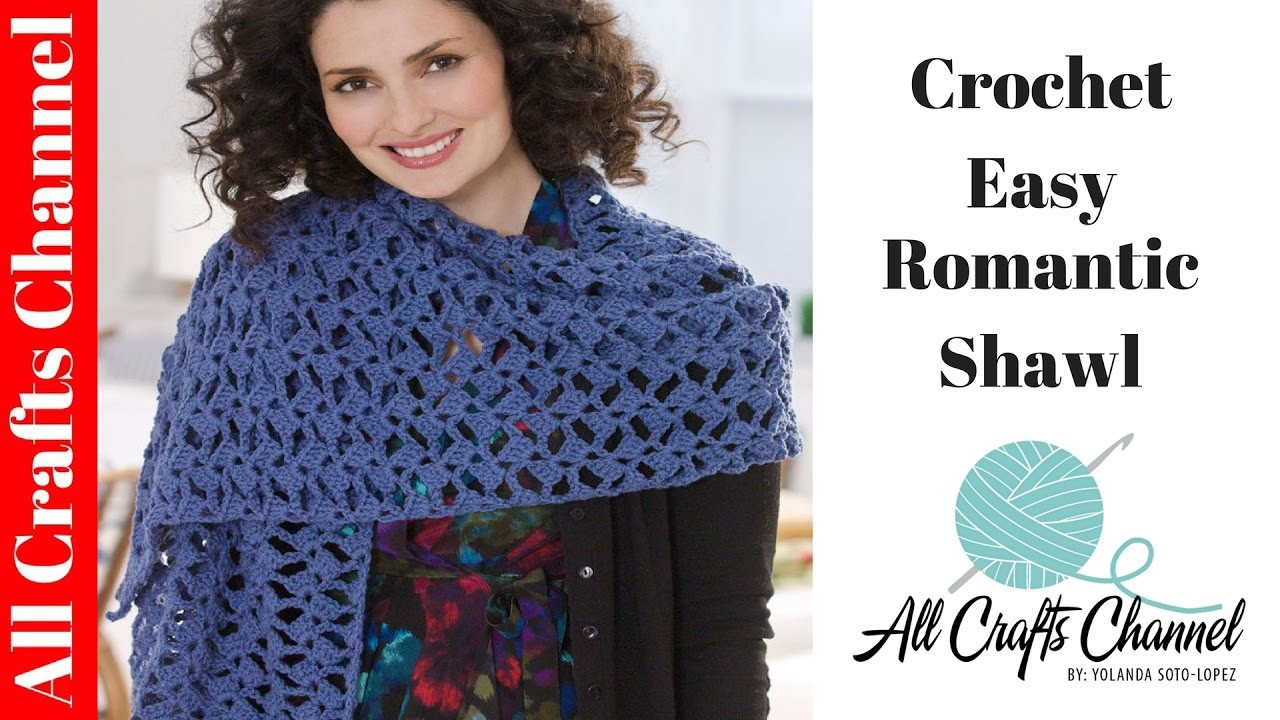 Unique How to Crochet Romantic Lacy Shawl Easy Beginner Level Crochet Shawl Tutorial Of Attractive 40 Ideas Crochet Shawl Tutorial