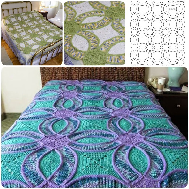 Unique How to Crochet Wedding Ring Quilt Wedding Ring Quilt Pattern Of Innovative 47 Pics Wedding Ring Quilt Pattern