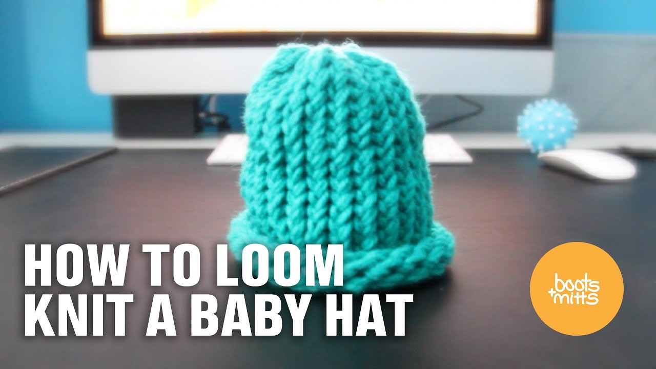 Unique How to Loom Knit A Baby Hat Easy and Fast Making A Hat On A Loom Of Attractive 43 Pics Making A Hat On A Loom